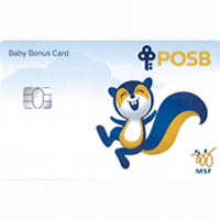 POSB Baby Bonus Card
