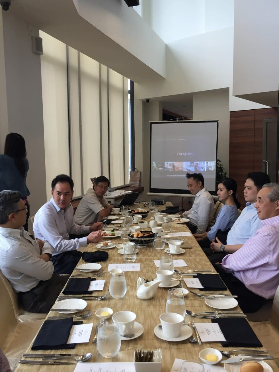 BJIOS Private Lunch with Medical Partners